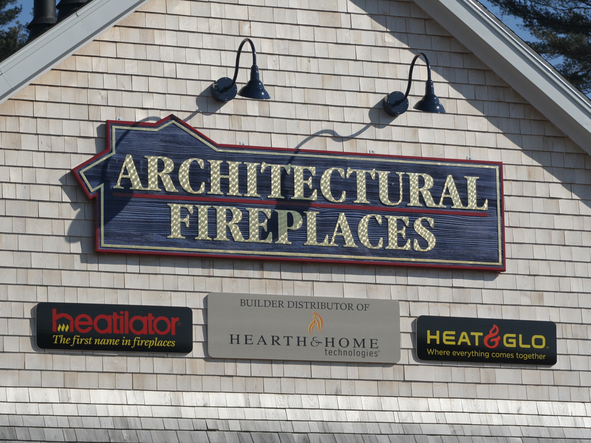 NH MA Dimensional sandblasted Carved Signs Signage