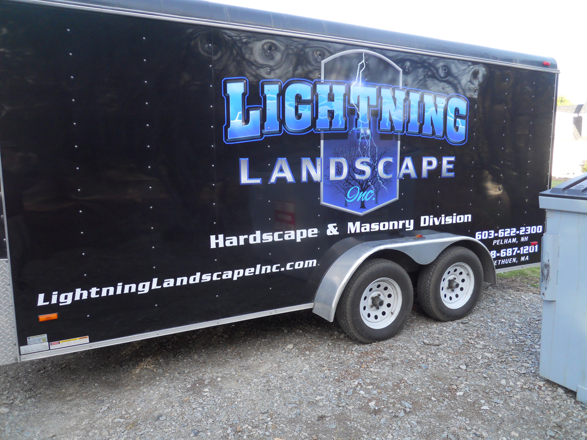 NH MA Vehicle Trailer Graphics Wraps