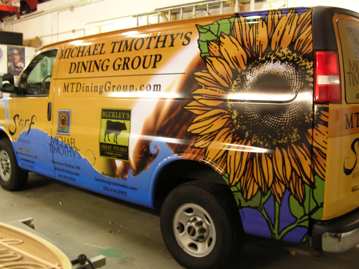 NH MA Vehicle Trailer Graphics Wraps Truck Lettering